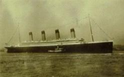 The RMS Olympic.