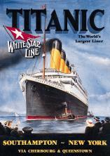 A TITANIC advertisement put out by the White Star Line.